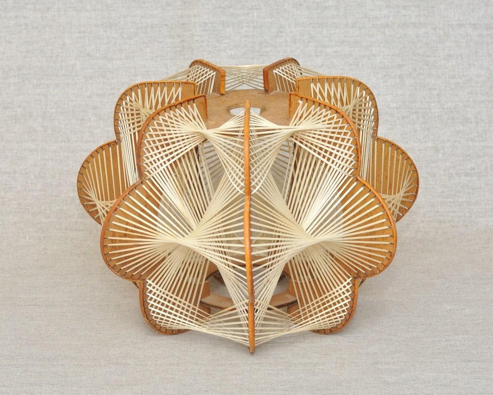 Woven Basket Lamp Shade : Journal